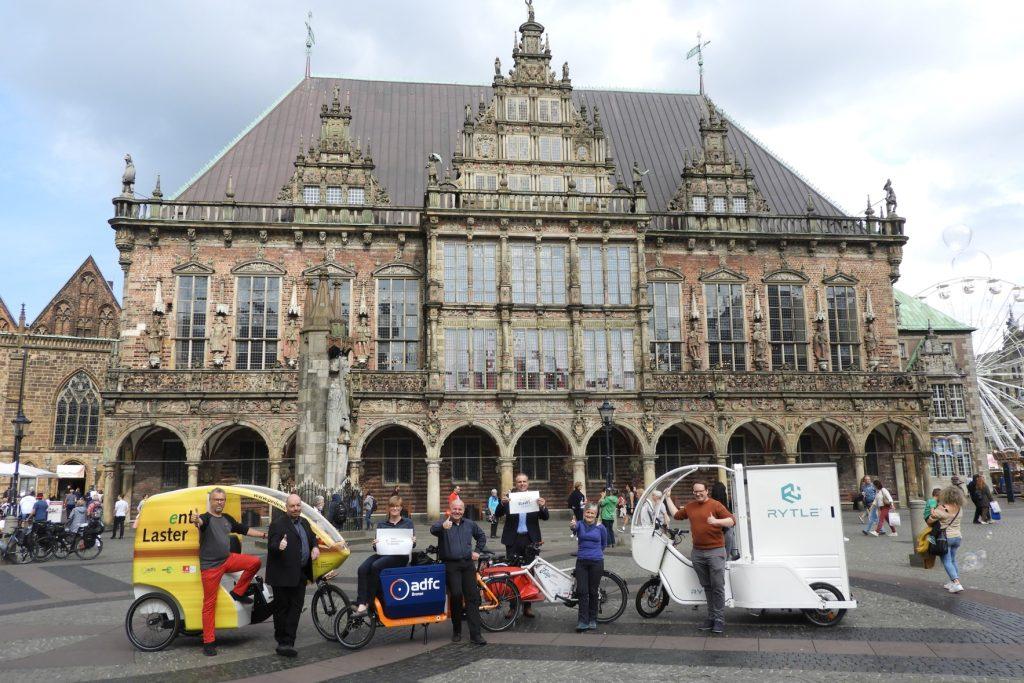 Urban Logistics as an on-Demand Service partners in Bremen