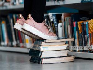 Books help children reach higher