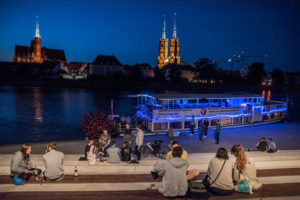 Wroclaw waterboat